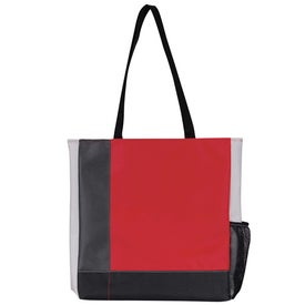 Tri-Tone Tote Printed with Your Logo