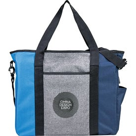 Triad Zippered USB Tote Bag