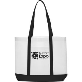 Trim Color Non-Woven Tote Bag