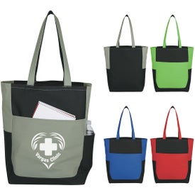 Triple Pocket Tote Bag