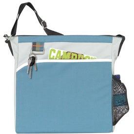Triple Stripe Tote Bag for Customization