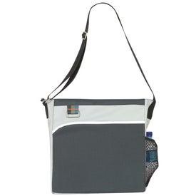 Customized Triple Stripe Tote Bag
