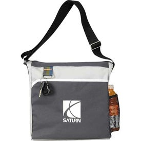 Promotional Striped Tote Bag, 80% Post Consumer Material with ...