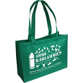 Tropic Breeze Tote Bag Imprinted with Your Logo