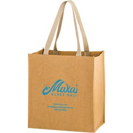Tsunami Washable Kraft Paper Tote Bag