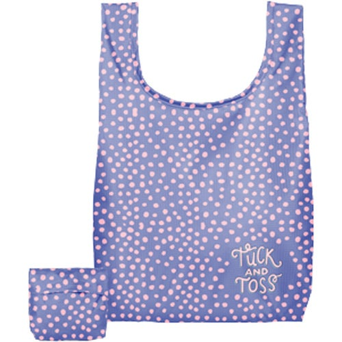 Full Color Imprint Small Tuck and Toss Tote Bag