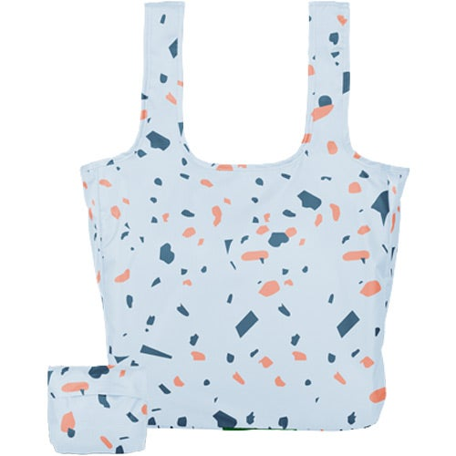 Full Color Imprint Large Tuck and Toss Tote Bag