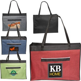 Two-Tone Big Event Tote Bags