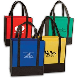 Two Tone Grocery Bags