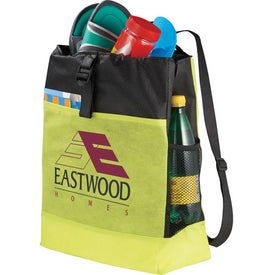 The Two-Time Backpack Tote Bag for Advertising