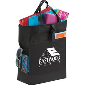 The Two-Time Backpack Tote Bag Imprinted with Your Logo