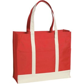 Multi-Colored Two-Tone Tote Bag for Your Church