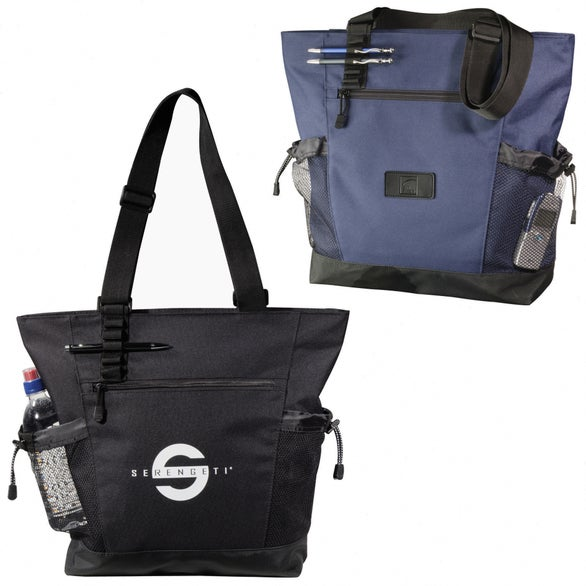 Urban Passage Zippered Travel Tote