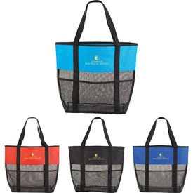 Utility Beach Tote Bag