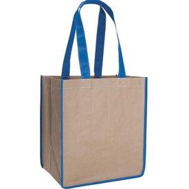 V Natural Kraft Sack for Promotion