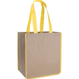 V Natural Kraft Sack for Your Company