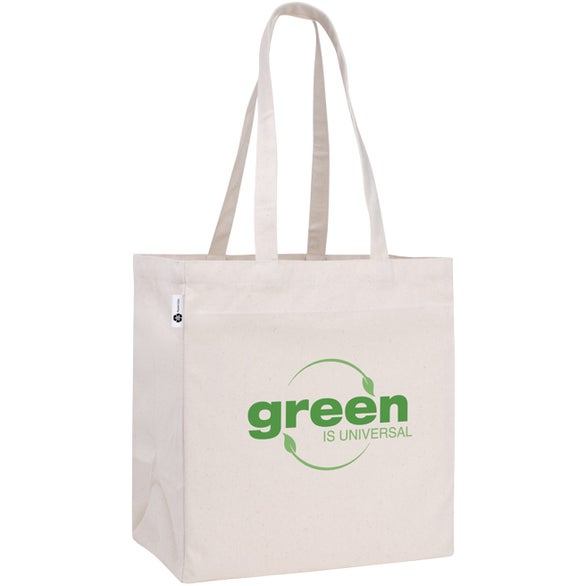 Natural V Natural Recycled Cotton Tote
