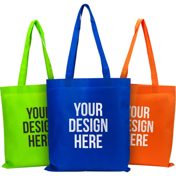 Promotional Small Eco-Friendly Non Woven Tote Bag with Custom Logo ...
