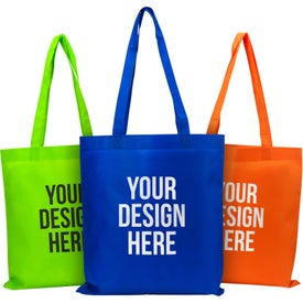 "Eco-Friendly Non Woven Tote Bag (13.5"" x 14.5"")"
