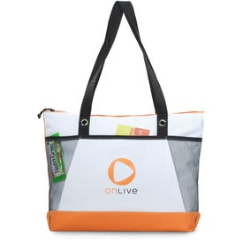 Monogrammed Venture Business Tote Bag