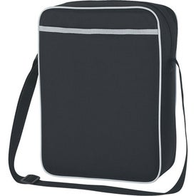 Imprinted Vertical Flight Tote