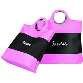 Customized Vertical Grommet Tote Bag