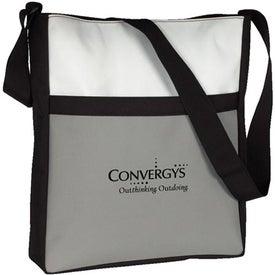 Imprinted Vertical Travel Tote Bag