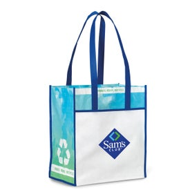 Vita Laminated Recycled Shopper