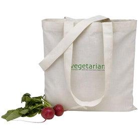 V-Natural Organic Flat Tote Bag
