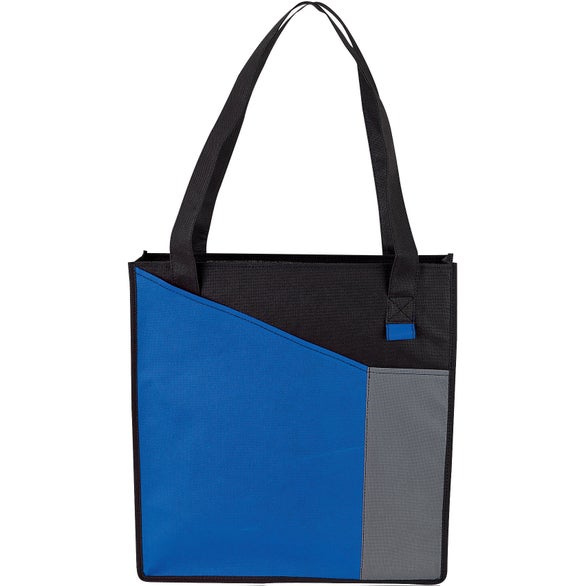 Blue / Black / Gray Waiuku Tote Bag