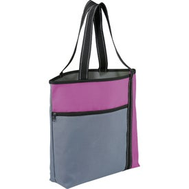 Imprinted Wake Up Meeting Tote Bag