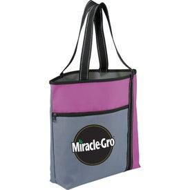 Wake Up Meeting Tote Bag Imprinted with Your Logo