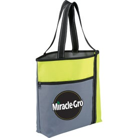 Customized Wake Up Meeting Tote Bag