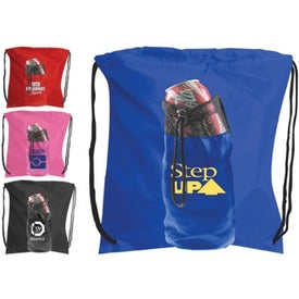 Water Bottle Backpack Branded with Your Logo