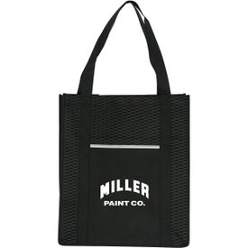 Wave Grocery Shopper Tote Bag
