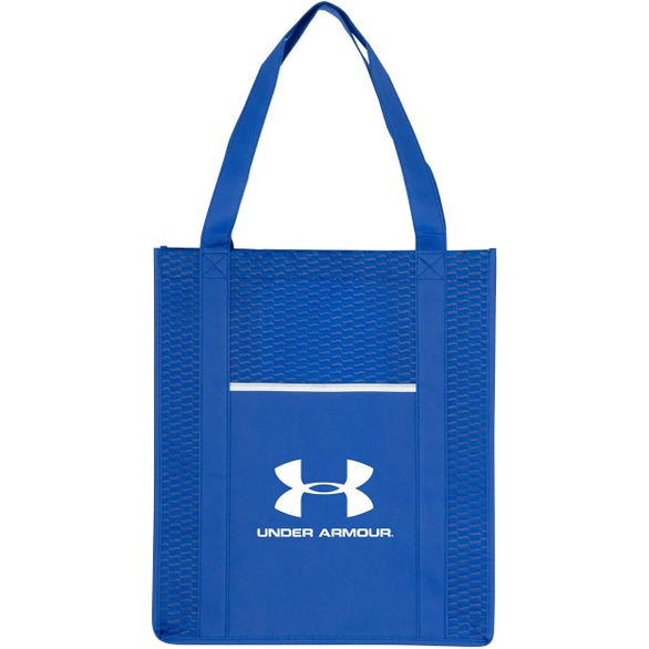 Blue Wave Grocery Shopper Tote Bag