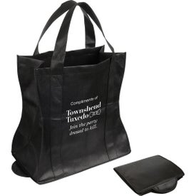 Wave Rider Folding Tote Bag Imprinted with Your Logo