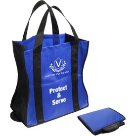 Wave Rider Folding Tote Bag for Advertising