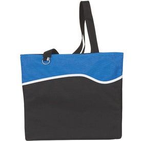 Wave Runner Tote Bag with Your Slogan