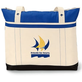 Logo Windjammer Tote Bag