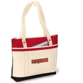 Logo Windjammer Tote Bag