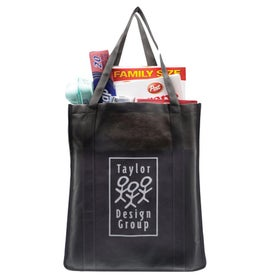 XXL Recycled Grocery Tote for Marketing