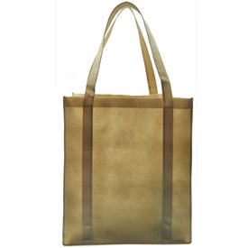XXL Recycled Grocery Tote for Customization