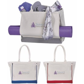 Yoga Retreat Cotton Tote Bag