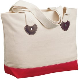 Company Zippered Boat Tote Bag