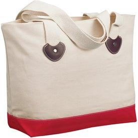 Company Zippered Boat Tote Bag