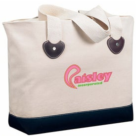 Zippered Boat Tote Bag Branded with Your Logo