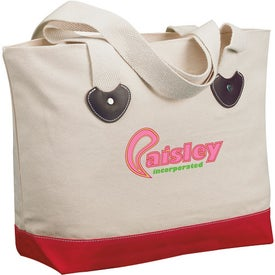 Zippered Boat Tote Bag Giveaways