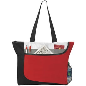 Zippered Convention Tote Bag for Marketing