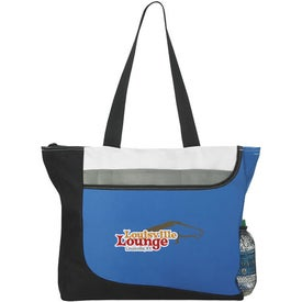 Zippered Convention Tote Bag for Advertising
